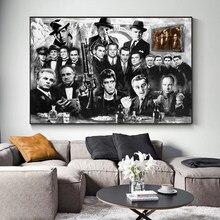 Классические кинофильмы Крестный отец, постеры для игр, картина на стену, постеры и принты для гостиной, домашний декор