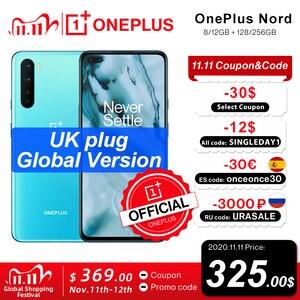 Глобальная версия британской модели, Nord Snapdragon 76, 5G, 8 ГБ, 128 ГБ, 5G, смартфон, 90 Гц, жидкий AMOLED, 48 МП, Quad Camera, 30T, быстрая зарядка