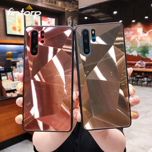 Case For Huawei P20 P30 Pro Mate 20 10 Lite 3D Diamond Glitter Mirror for Honor 8X 8A 7C Y7 2018 Y6 Y9 2019