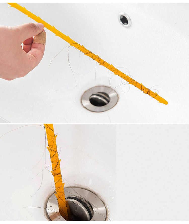 Creative מטבח כלים מטבח ביוב ניקוי מברשת כיור אמבטיה שרותים מחפר מנקה צינור נחש ניקוי אסלת מברשת כלי