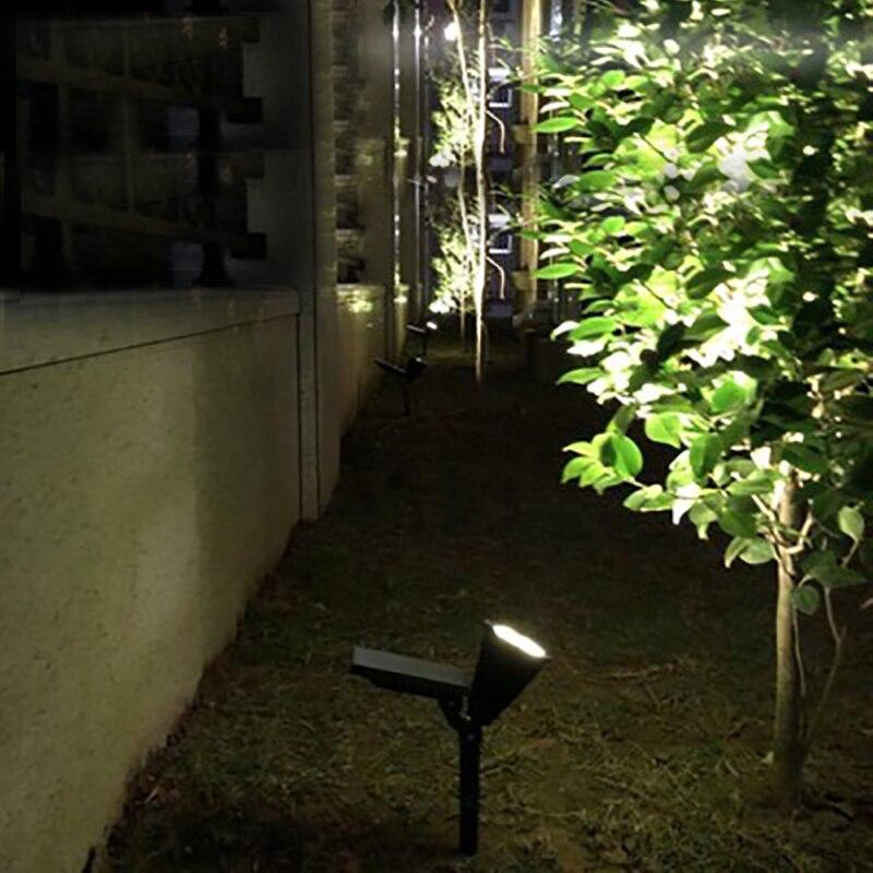 Dcoo solar ao ar livre holofotes luzes