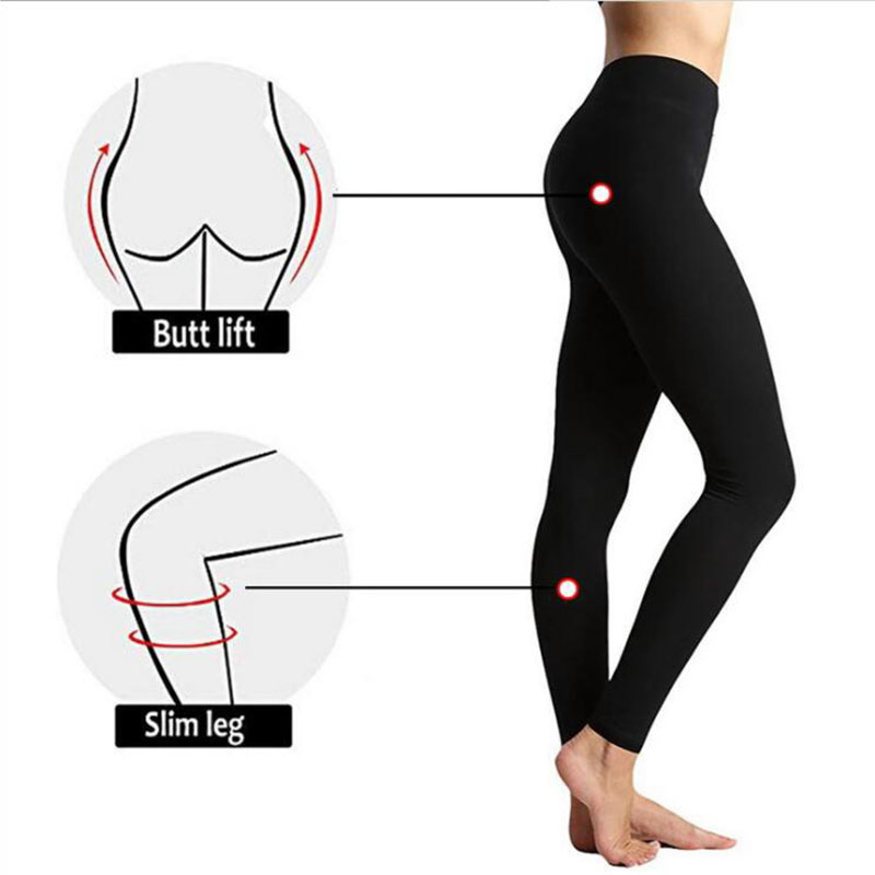 Autumn And Winter Warm Pants Hot Selling High Waist Legging Plain Salad Women Pants Women Winter Leggings 21