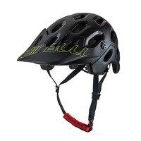 Cairbull bicicleta de carretera de montaña ventilación transpirable integrado moldeado casco de montar 2018 nuevo estilo con capucha|Casco para bicicleta| |  -