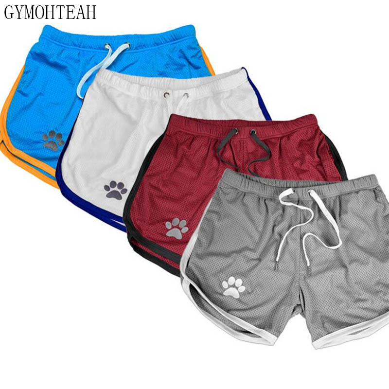 GYMOHYEAH Mens Shorts Jogger Fitness Casual Gyms Joggers Shorts Men Workout Bodybuilding Breathable Quick-drying Beach Shorts