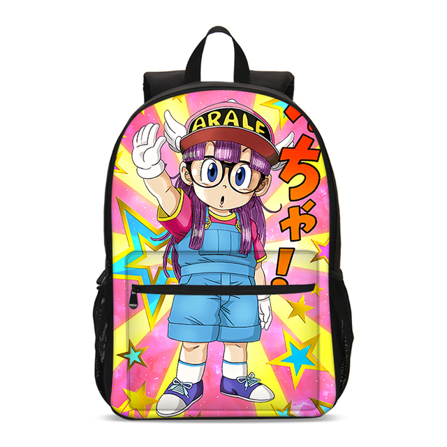 Collection Sac Scolaire enfants Dr Slump Arale
