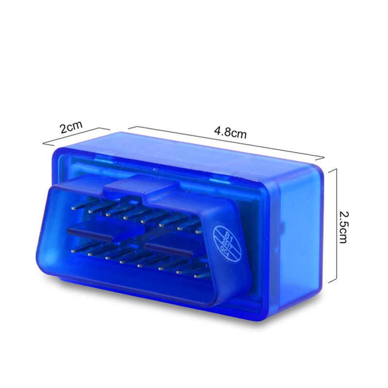 Obd2 scanner bluetooth v1.5 ferramentas de diagnóstico do carro para nissan tiida X-TRAIL qashqai skoda octavia fabia renault clio ford foco