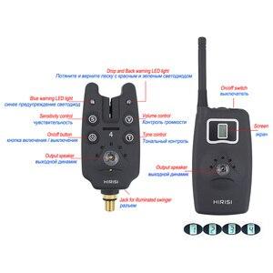 Image 3 - Bezprzewodowy Alarm zgryzowy zestaw wskaźników do połowu karpi B1203