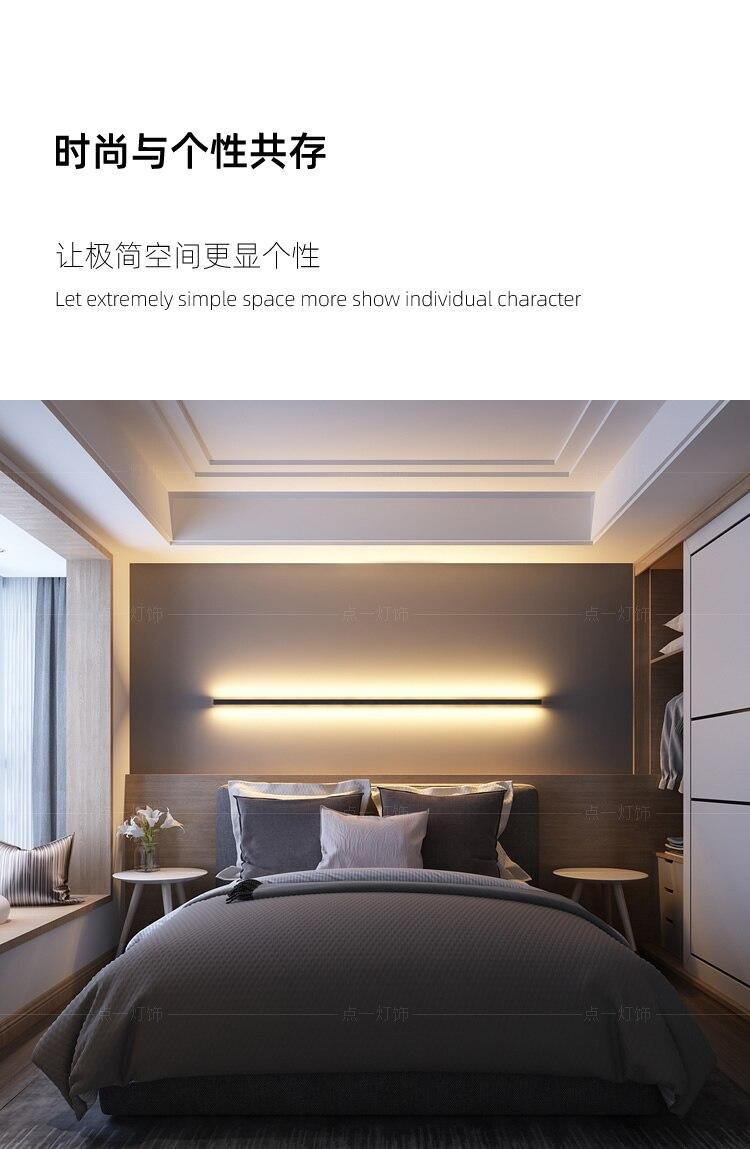 luz da parede conduziu a iluminação interior dispositivo elétrico