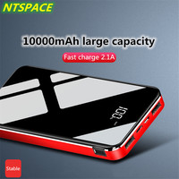10000mAh Power Bank For iPhone/Samsung 2.0A Quick Charge Dual USB Portable Fast Charging Power Battery For Huawei Xiaomi Power