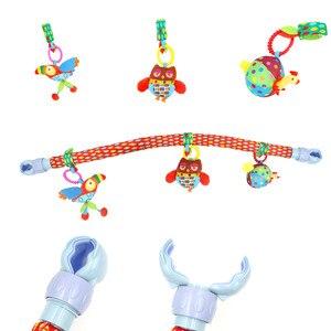 Image 3 - Océan forêt ciel bébé poussette voiture pince tour suspendu siège & poussette jouets enfant volant Animal jouet éducatif amovible 20% de réduction