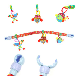 Image 3 - Ocean Forest Sky รถเข็นเด็กทารกคลิปแขวนรถเข็นเด็กของเล่นเด็กบินสัตว์การศึกษาของเล่นที่ถอดออกได้ 20% off