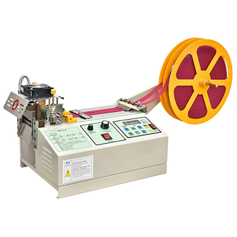 988T Computer Automatic Hot and Cold Cloth Belt Cutting Machine Magic Adhesive Tape Zipper Webbing Machine Elastic Belt Cutting