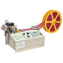 988T Computer Automatic Hot and Cold Cloth Belt Cutting Machine Magic Adhesive Tape Zipper Webbing Machine Elastic Belt Cutting