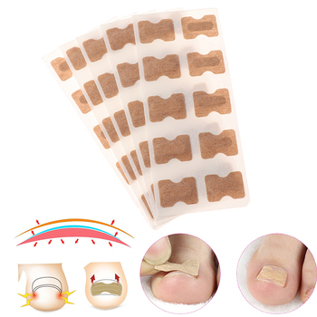 5Pcs Nail Art Ingrown Correction Sticker Fixer Paronychia Recover Toenail Elastic Patch Corrector Foot Care Pedicure Tool tanie i dobre opinie HNKMP Stóp łatka Approx 5 3 * 2cm 2 09 * 0 79in Brak elektryczne Ingrown Nail Correction Stickers