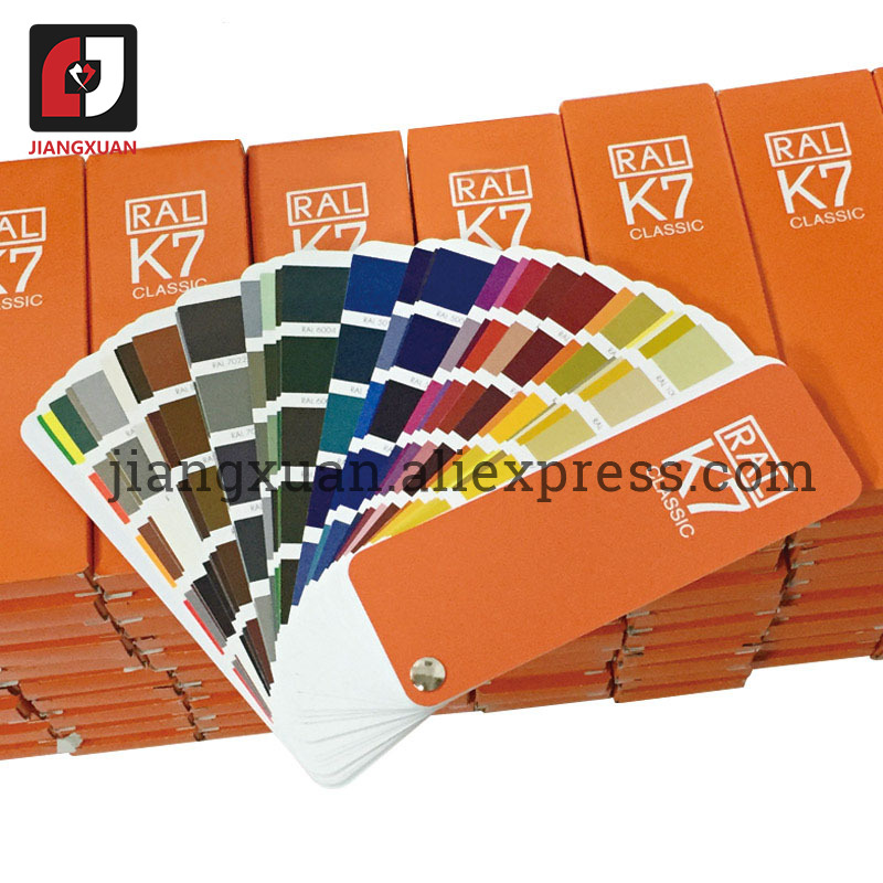 Image 4 - Original Germany RAL color card international standard Ral K7 color chart for paint 213 colors  with Gift BoxPneumatic Parts   -