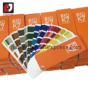 Image 4 - Original alemanha ral cor do cartão internacional padrão ral k7 gráfico de cores para a pintura 213 cores com caixa de presente