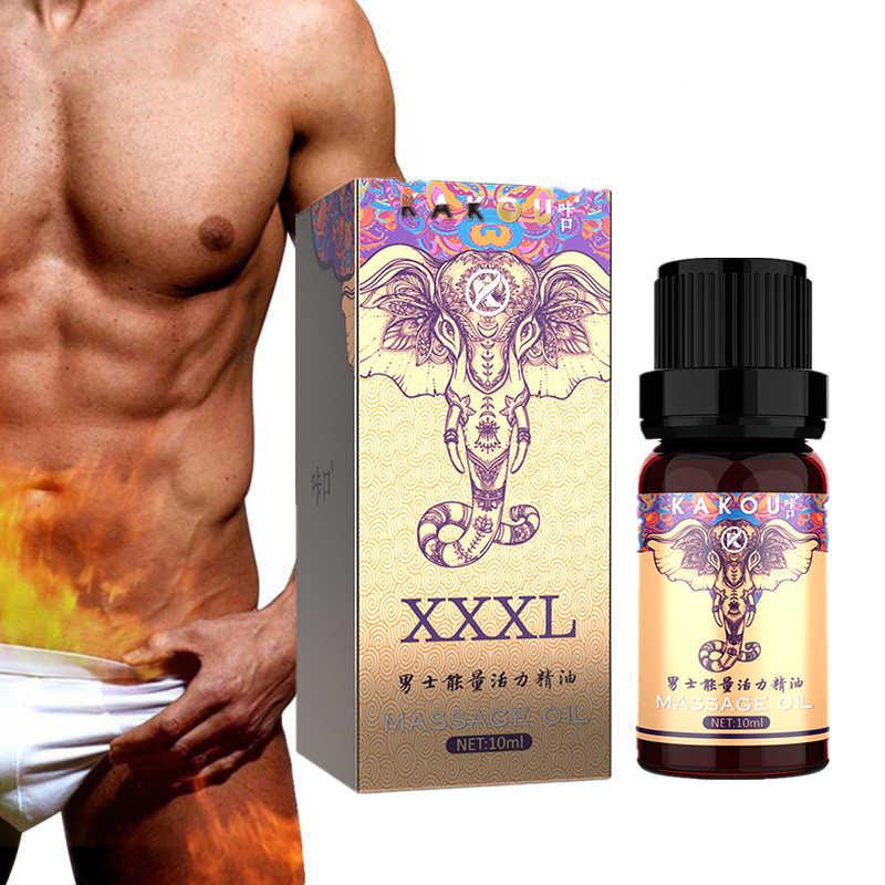 อวัยวะเพศชายหนา Growth Man น้ำมันนวด Cock Erection เพิ่มผู้ชาย Health Care Penile Growth ขนาดใหญ่ขยายน้ำมันหอมระเหย