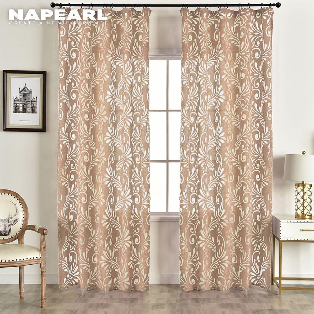 Cortinas semiopacas prefabricadas, telas de Panel ciego para ventana, tratamiento moderno para sala de estar, púrpura, negro, blanco