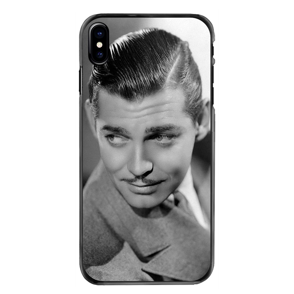 For Samsung Galaxy Note 2 3 4 5 S2 S3 S4 S5 MINI S6 S7 edge S8 S9 Plus Clark Gable What a hamdsome man Accessories Phone Covers image