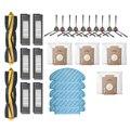 Ролик ЩЕТОЧНЫЕ фильтры ткани СС Мешка Для Пыли Боковые Щетки Для ECOVACS DEEBOT OZMO T8 пылесос аксессуары