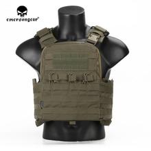 Emersongear portador de placa CPC de alta resistencia, chaleco táctico Verde Ranger, ejército militar, armadura corporal