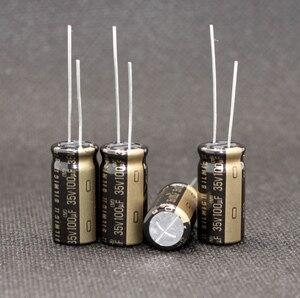 Image 2 - 10PCS ELNA RFS SILMIC II 35V100uF Della Tailandia 10X20MM NUOVO audio elettrolitico condensatore SILMICII 100UF 35V