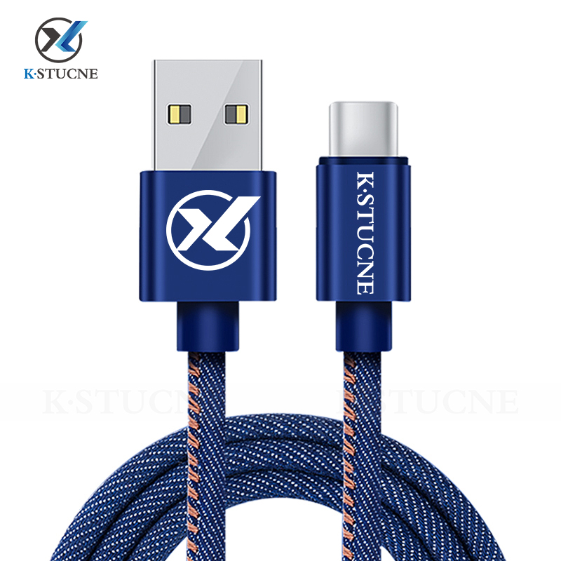 USB Type C Fast Charging Cable For Samsung Galaxy S10 S9 S8 Plus Xiaomi Mi 9 Fast Charging USB C Charger Mobile Phone Data Cord