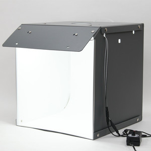 "Image 3 - SANOTO 16"" x 16"" Photography Table Top Light Box 102pcs LED Lights Dimmable Portable Foldable Photo Studio Shooting Tent Softbox"