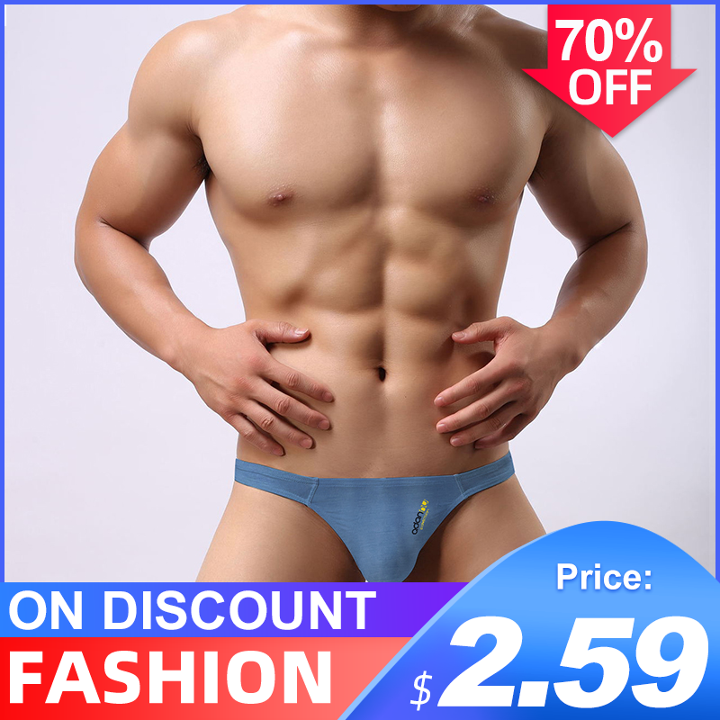 Hot Sale Cotton Breathable Sexy Gay Underwear Men Thong Men Jockstrap Men Lingerie G String Men Penis Pouch Gay Underwear Cueca