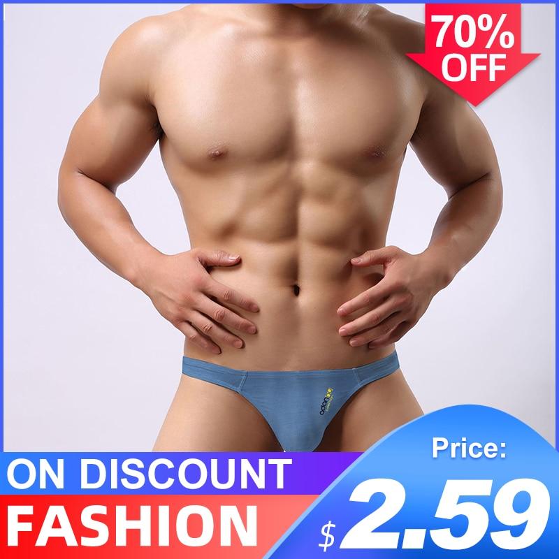 Hot Sale Cotton Breathable Sexy Gay Underwear Men Thong Men Jockstrap Men Lingerie G String Men Penis Pouch Gay Underwear Cueca