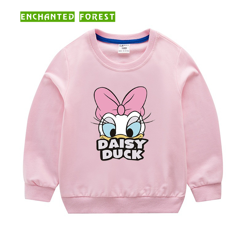 Girls Sweatshirts spring and autumn new baby long-sleeved 100% cotton o-neck sweater children clothes girl sweater kid tops