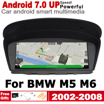 For BMW M5 M6 E60 E64 2002~2008 CCC HD Screen Stereo Android Car GPS Navi Map Original Style Multimedia Player Auto Radio