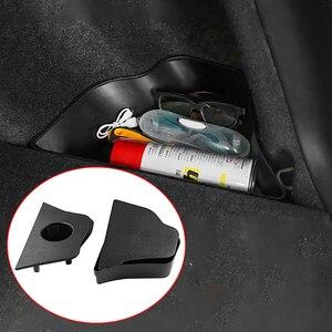 Image 5 - Auto Stamm Boot Seite Organizer Box Lagerung Inhaber Box Feuerlöscher Halterung für Honda Crv Cr V 2017 2019