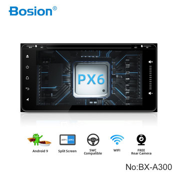 Bosion 2Din Android 10 Car DVD Player For Toyota Corolla 2 Din Universal Car Radio GPS Navigation Bluetooth Wifi car stereo PX6 image