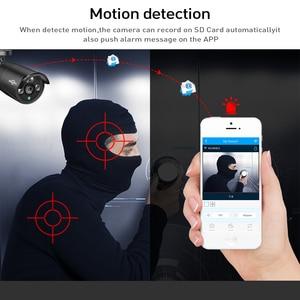Image 4 - Hiseeu 8CH Wireless NVR 1080P HD Outdoor Home Security Camera System CCTV Video Surveillance NVR Kit 1080P Wifi Camera Set black