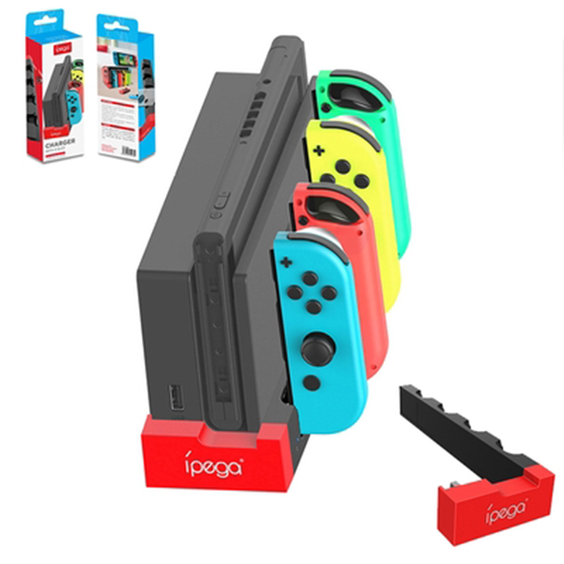 Switch Joy Con Controller Charger Dock Stand Station Holder for Nintendo Switch NS Joy-Con Game Support Dock for Charging 1