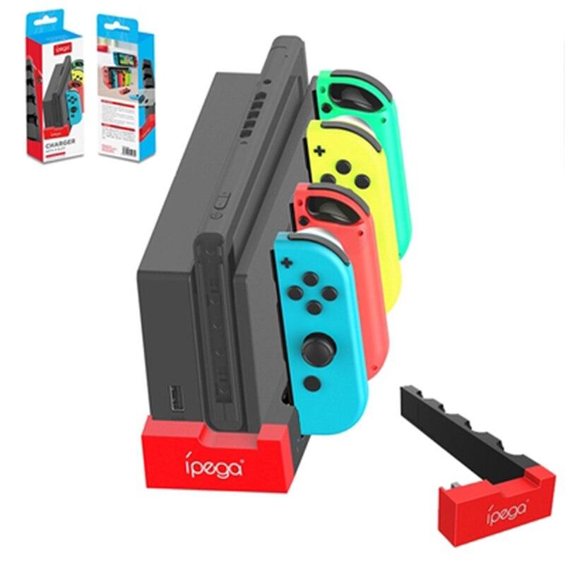 Switch Joy-Con контроллер Зарядное устройство Док-станция Стенд держатель для Nintendo Switch NS Joy-Con игровая Поддержка док-станция для зарядки