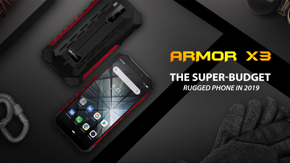 """H75af4cfb2b22475bbea3261e6a69bfa3d Ulefone Armor X3 Rugged Smartphone Android 9.0 IP68 Android 5.5"""" 2GB 32GB 5000mAh 3G Rugged Cell Phone Mobile Phone Android"""