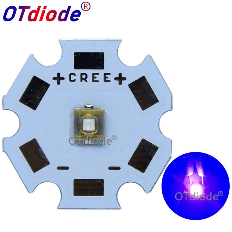 1-10PCS 3W 3535 USA SemiLEDs Led UV Purple 395nm 405nm 410nm 420nm 430nm Lamp Light Diode LED Phosphor Lighting /UV Air Purif