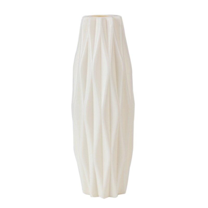 Скандинавском стиле Цветочная корзина ваза для цветов и рисунком в виде птичек-оригами Пластик ваза мини бутылка имитация Керамика украшение цветочный горшок для дома - Цвет: RL1204B