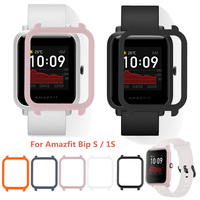 PC Protective Case Cover For Huami Amazfit Bip S Smartwatch Replacement Protector Frame For Amazfit Bip Lite 1S Accessories