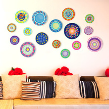 3D Wall Sticker Creative Living Room Decorative Wall Girl Self-adhesive Room Flat Wall Paster Bedroom 3d wall sticker self adhesive for bedroom