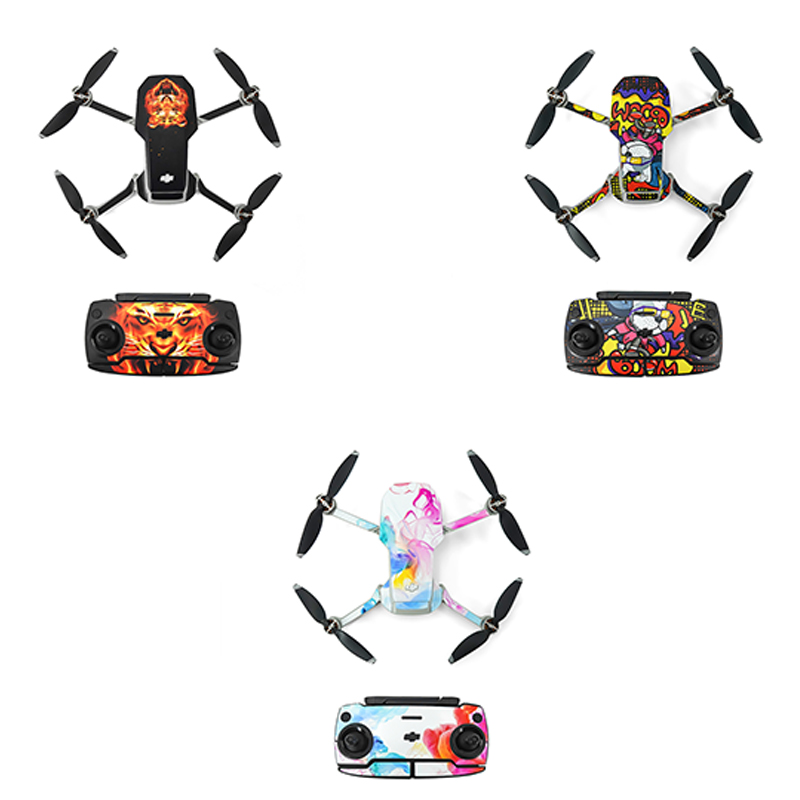 DJI Mavic Mini Waterproof Skin Protective PVC Stickers Drone Body Arm Remote Control Protector for DJI Mavic Mini Accessories