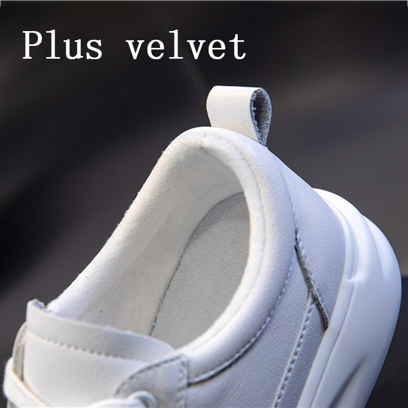 Big Size Women Sneakers Autumn Leather Light White Sneaker Female Platform Vulcanized Shoes Spring Casual Breathable Sports Shoe 11