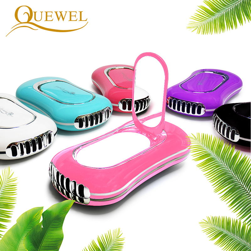 Quewel Eyelashes Extension Dryer Mini Pocket USB Fan Portable Handheld Air Conditioning Rechargeable Grafted Eyelashes Dryer