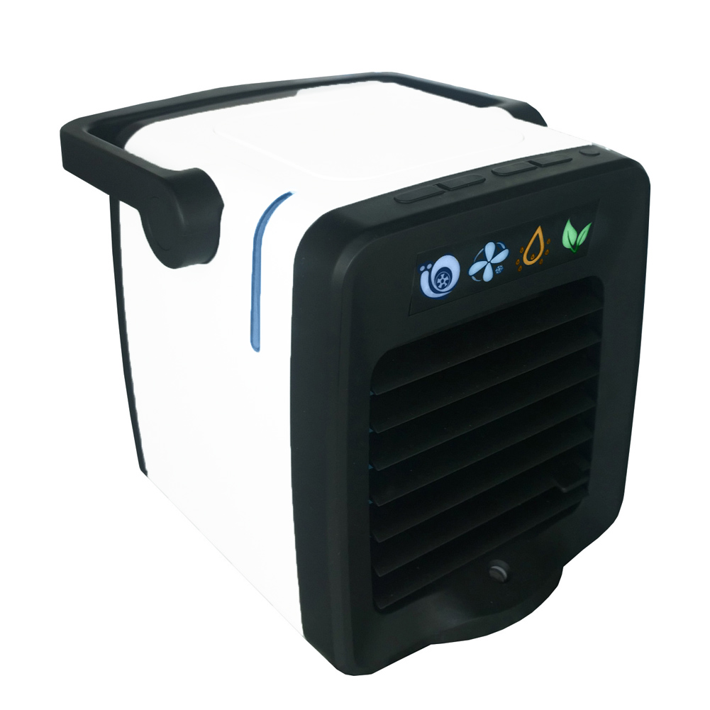 2020 New Mini Desktop Air Conditioner Fan Car Aromatherapy Machine Multifunctional Home Humidifier Air Cooler Summer Essential