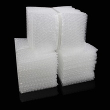 Bubble-Packing-Bags Envelope Wrap Clear Double-Film Plastic White 100PCS Shockproof-Bag