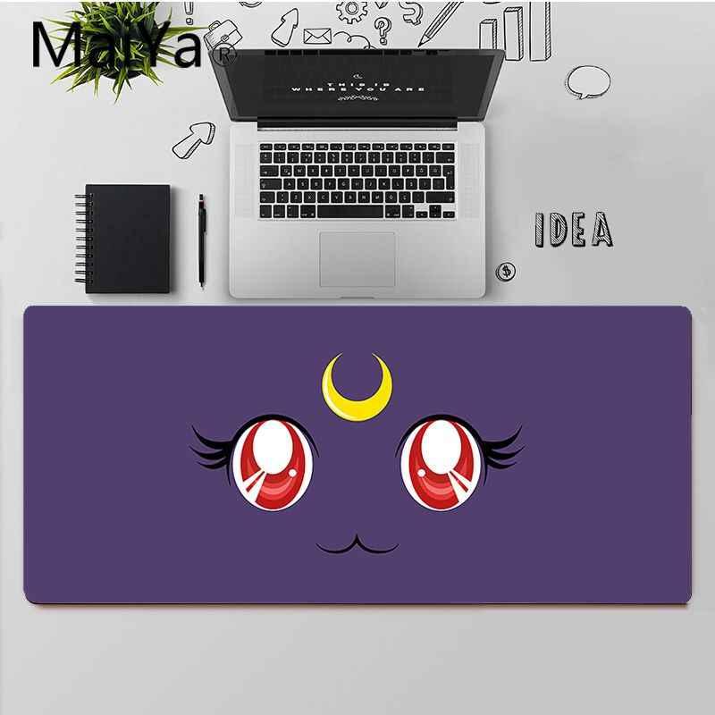 Maiya Top Quality sailor moon cat unikalna podkładka do komputera do gier podkładka pod mysz darmowa wysyłka duża podkładka pod mysz klawiatury Mat