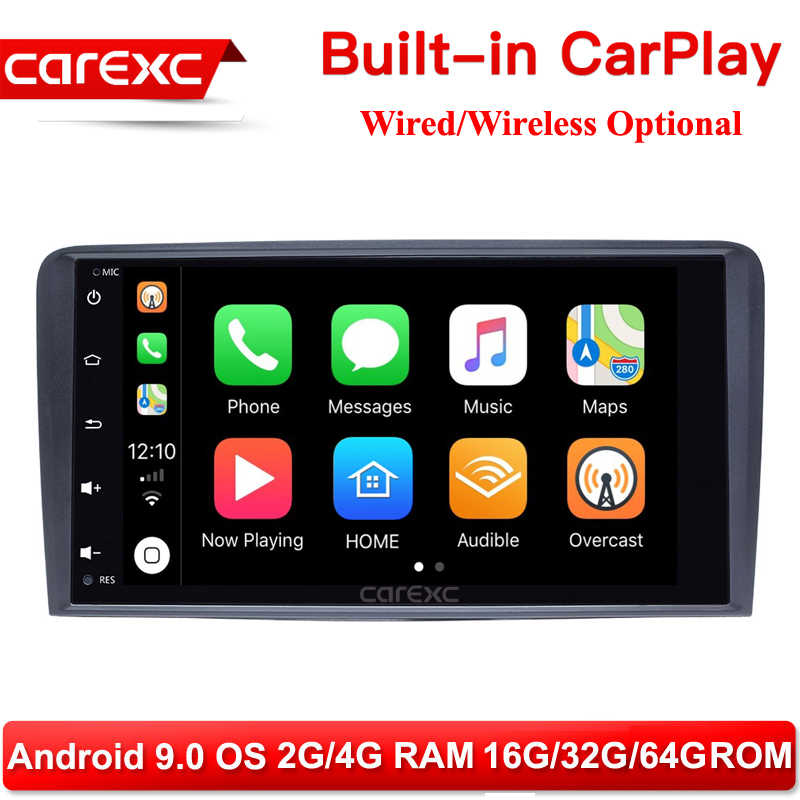 Carexc 2 DIN Android 9 Mobil Multimedia Player Head Unit untuk Audi A3 8P S3 2003-2012 RS3 sportback Navigasi GPS Radio