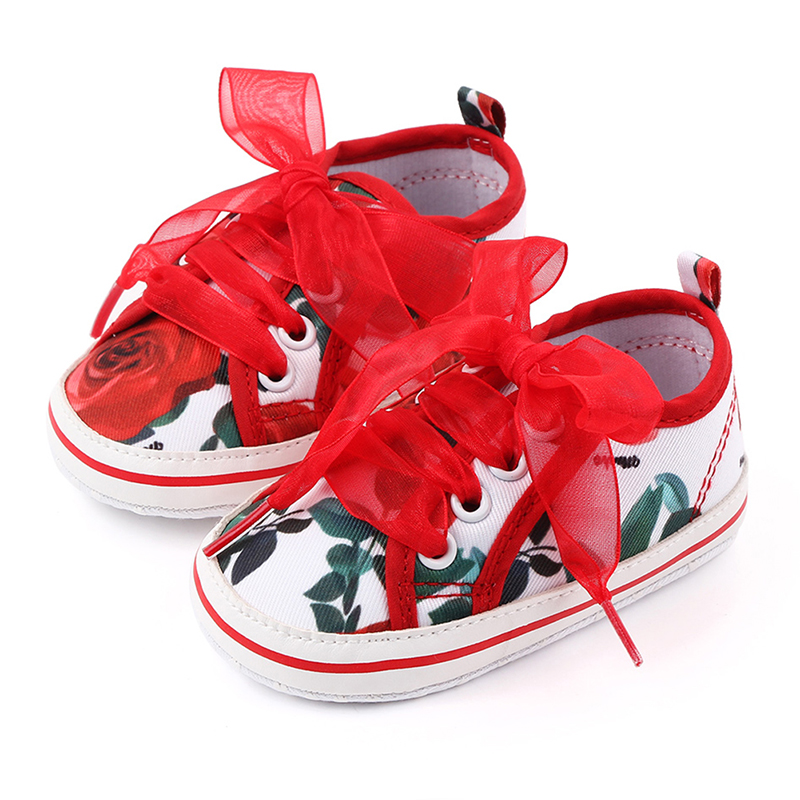 Baby Girl Shoes 2020 Flowers Prewalker Newborn Toddler Shoes Born Infant Cute Baby Shoes Sapato Bebe Menina